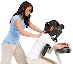 Free Chair Massage Promotion